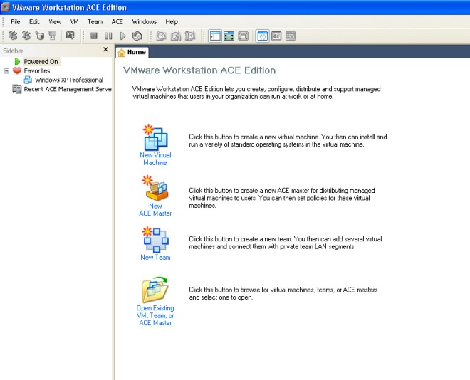 Vmware Workstation ACE Edition